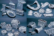 Example of die-casting products